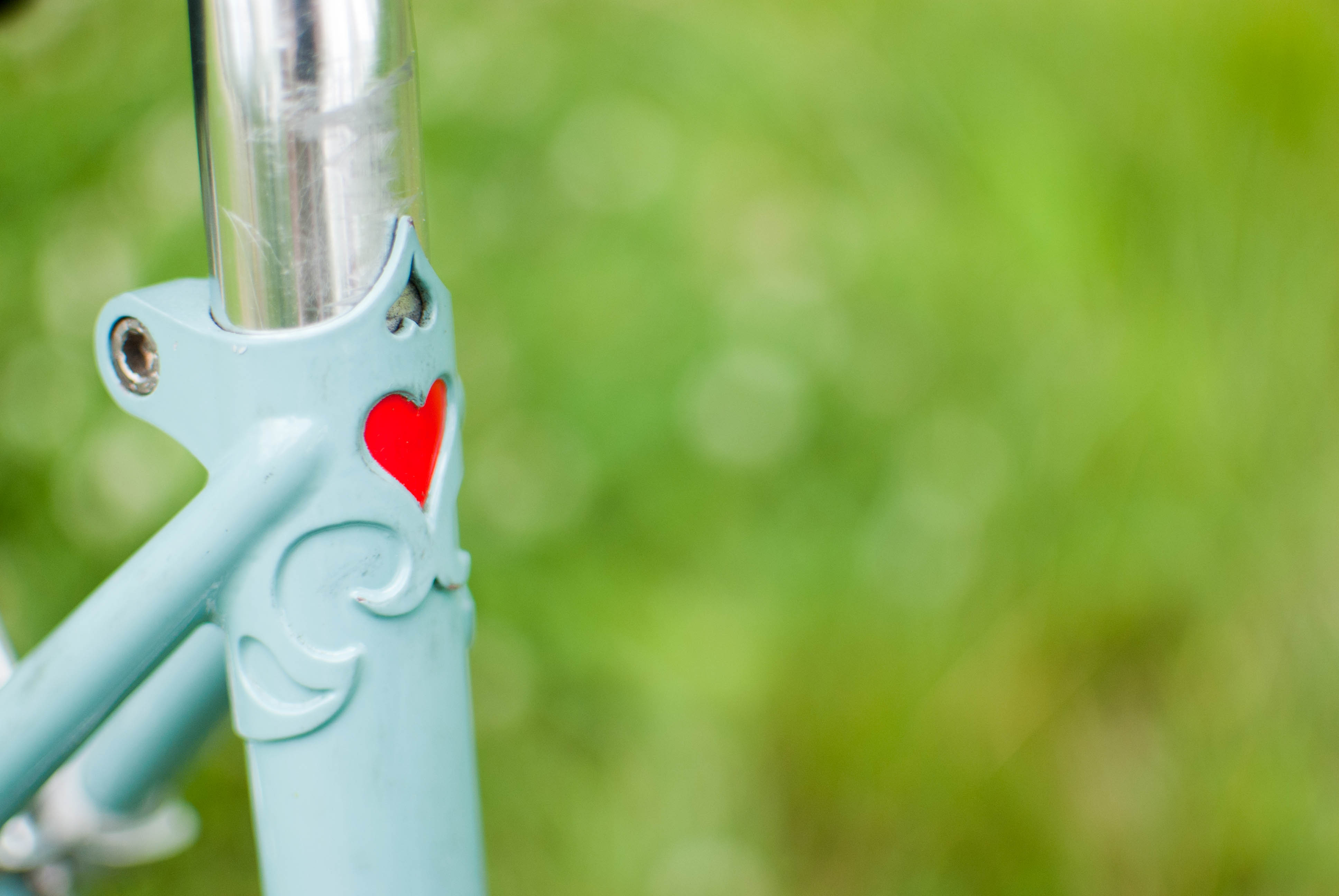 """I heart bicycle"" from rideons.wordpress.com"