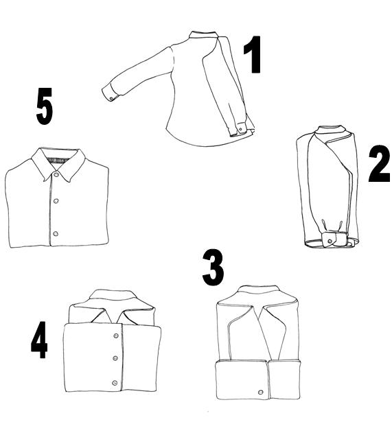 Shirt fold
