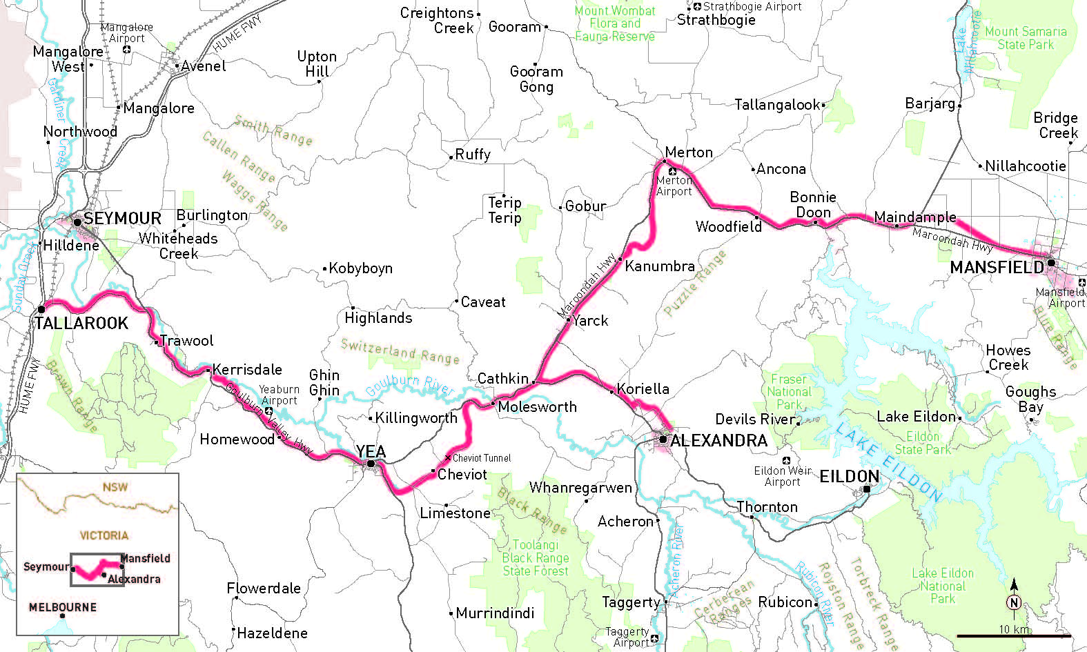 Goulburn Australia  City new picture : Great Victorian Rail Trail | RideOn