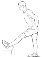 Hamstring stretch - Raking