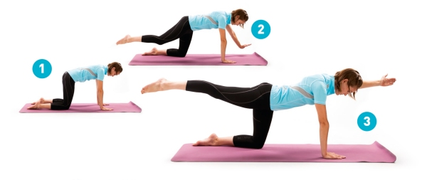 Pilates-Diagonal_Limb_Stretch