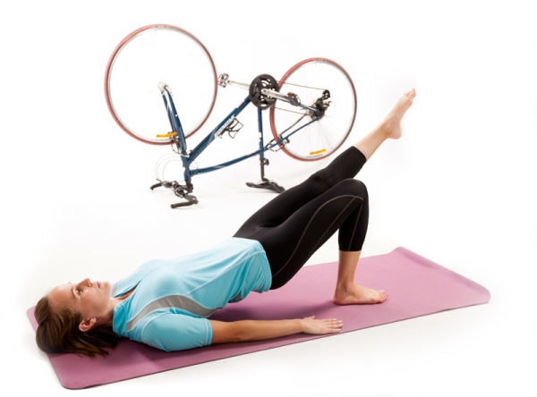 Pilates for bike riders