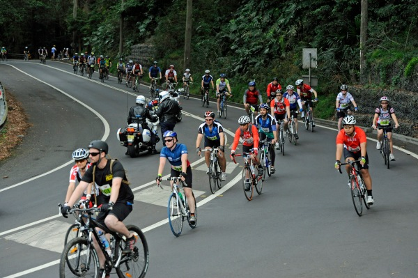 Sydney to Gong Ride   Photo: Mick Tsikas/MS Australia