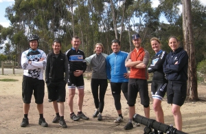 MTB Skills group at You Yangs