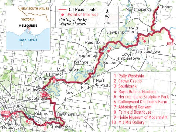 Main Yarra Trail  Ride On