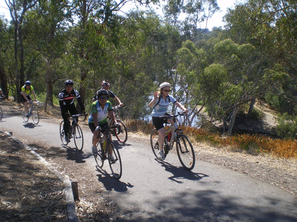 Main Yarra Trail Main Yarra Trail Ride On
