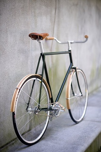 wooden mudguards