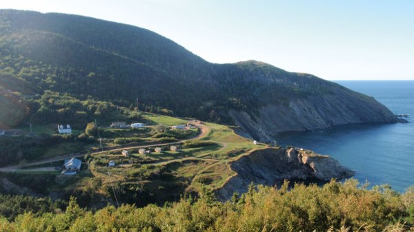 Meat Cove, far north Cape Breton. Photo by Chris Velupillai.
