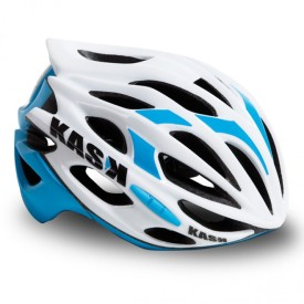 casque kask mojito blanc light blue
