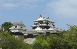 Matsuyama Castle by Tony Gibb
