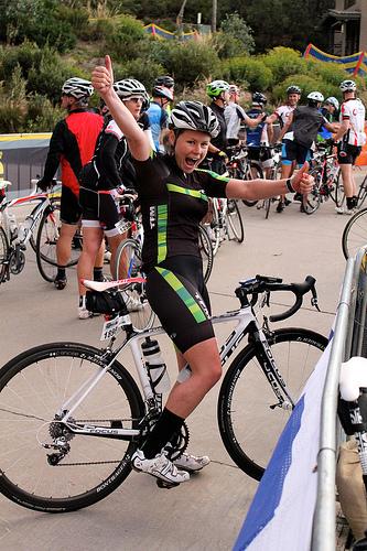 Liz Joiner, Scody 3 Peaks 2014 finisher. Photo by Simon Vincett
