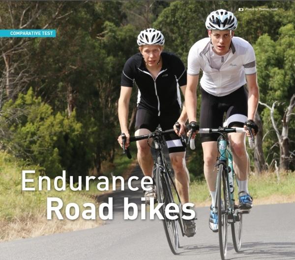 Endurance road bikes hero