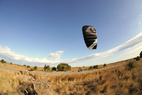 Kite biking Western Australia