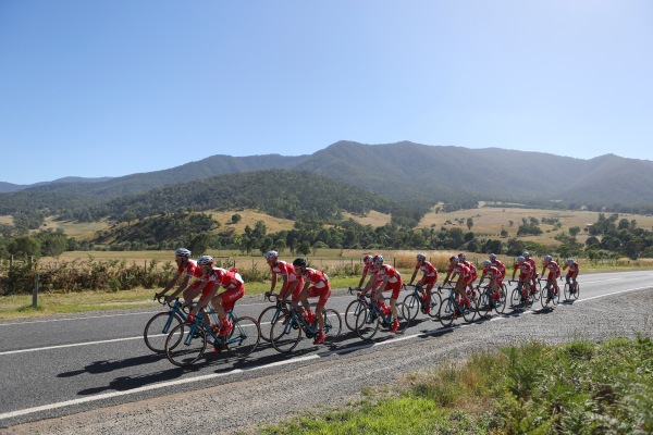 Drapac bunch ride