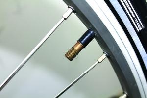 A schrader valve